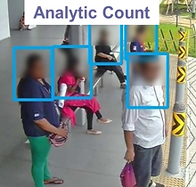 RFNet People Counting, Analytics