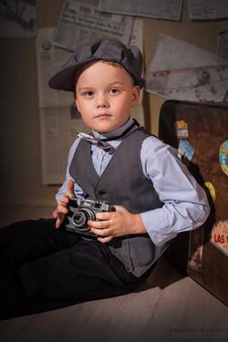 Детская фотосъемка в стиле РЕТРО