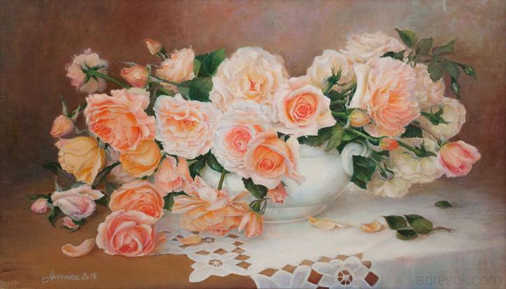 Аромат роз