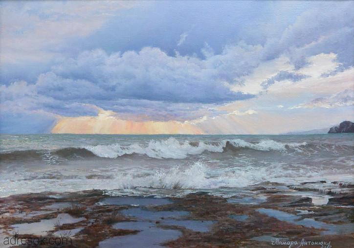 Морской пейзаж (Судак)