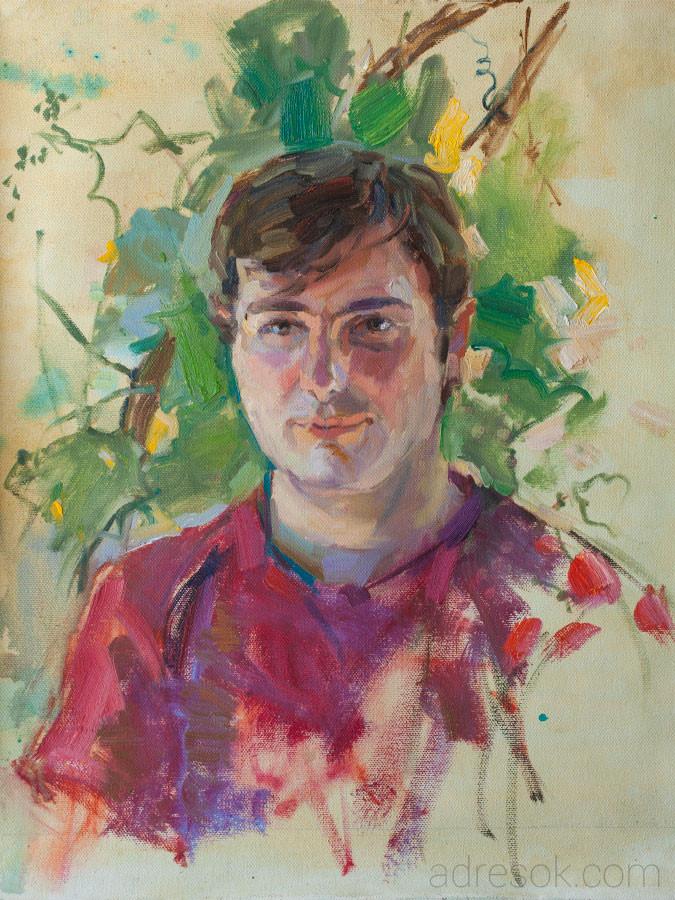 Денис. Портрет на пленэре