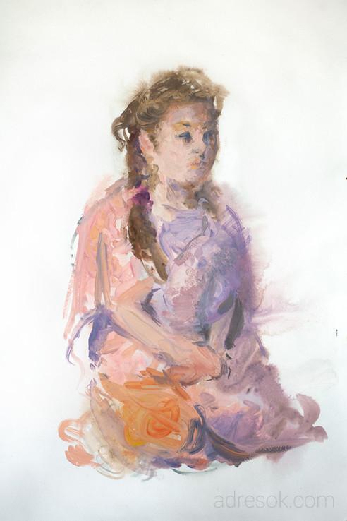 Соня в розовом одеялке