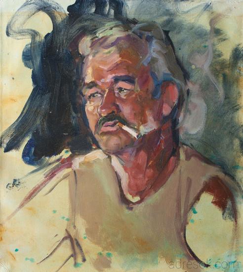 Ильдар. Портрет на пленэре