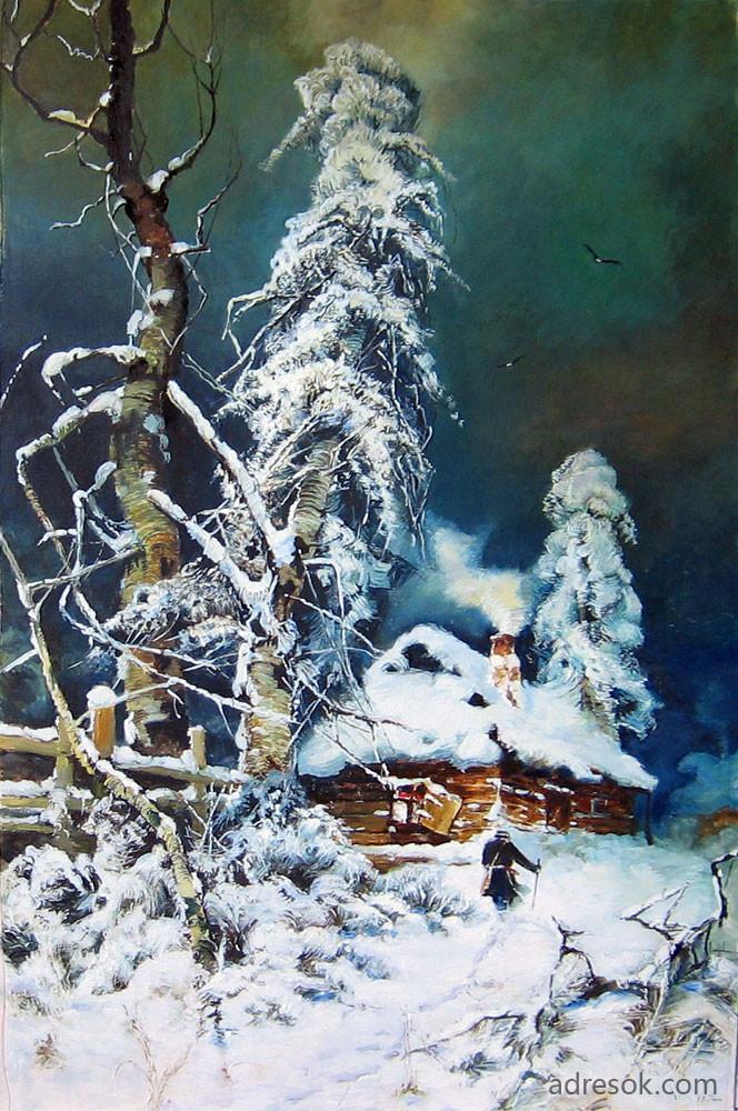 Копия картины Ю.Ю. Клевера