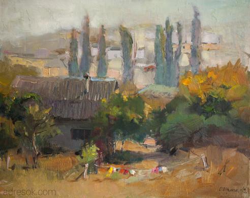 Осень в Бахчисарае