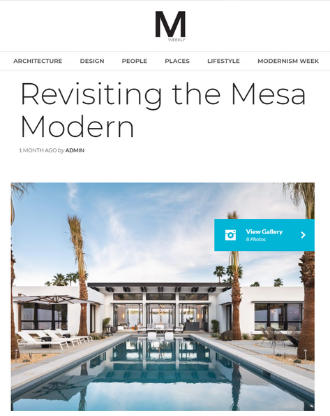 Modernism Weekly