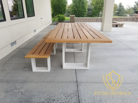 Harshbarger Table & Bench