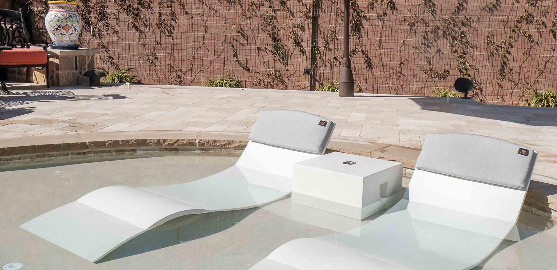 Pool Ledge Chair