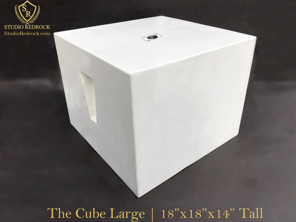 The Cube with measurments