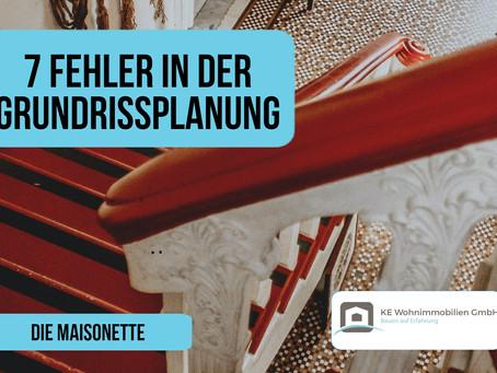 7 Fehler in der Grundrissplanung: Die Maisonette