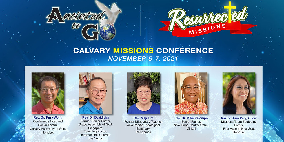 2021 Resurrected Missions Conference