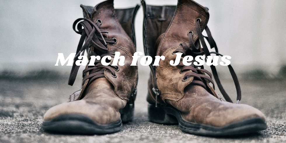 March for Jesus // Terry Wong