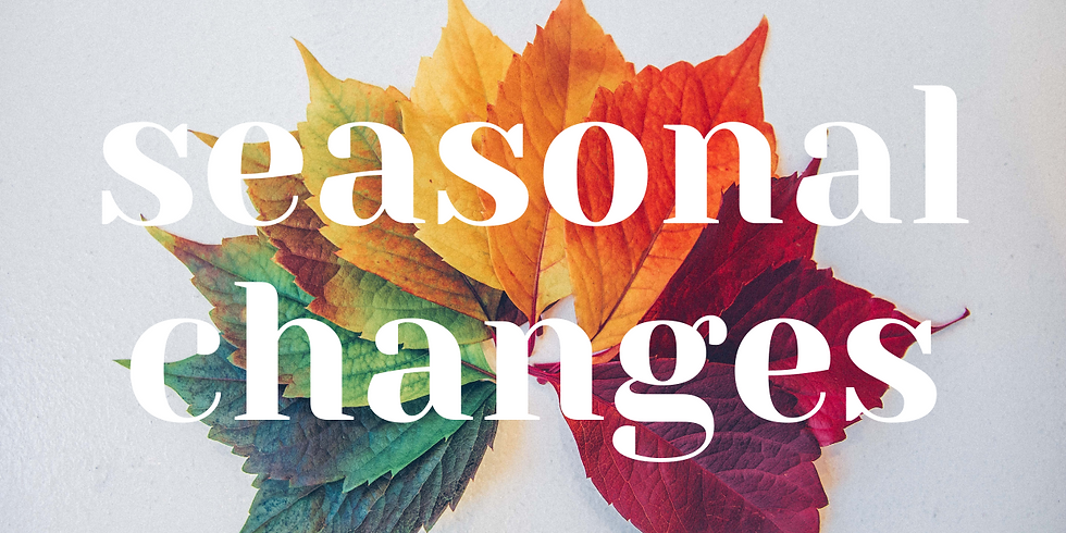 Seasonal Changes // Terry Wong