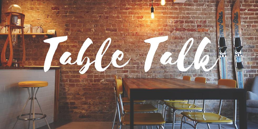 Table Talk // Krystal Marron
