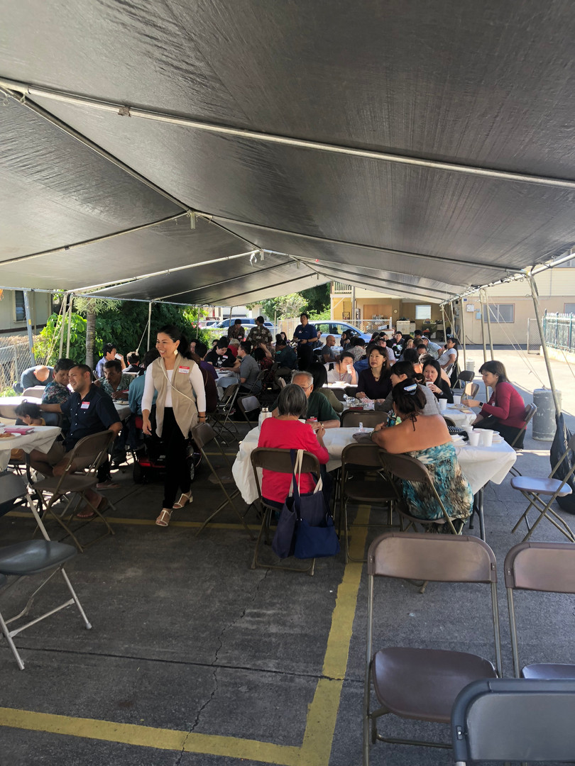 2018 Christmas Friend day outreach lunch