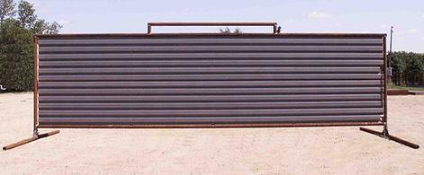 25' Free Standing Wind Break Panel