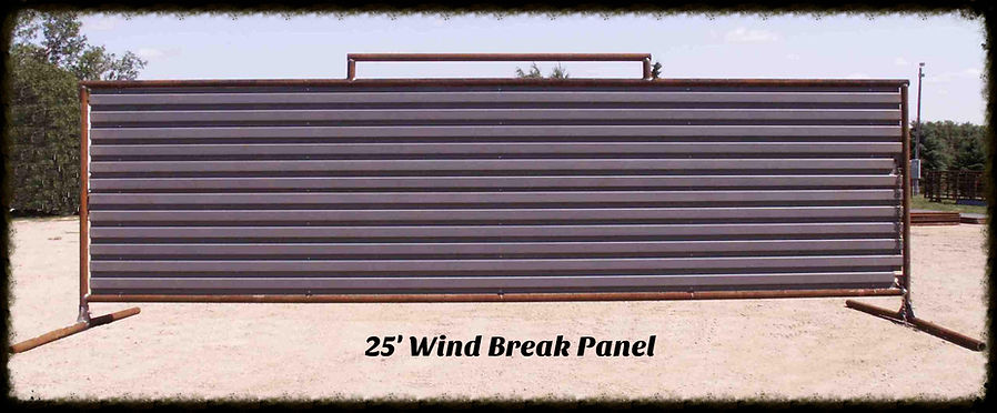 25' Wind Break Panel