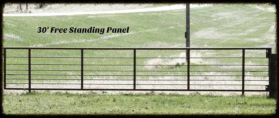 30' Free Standing Corral Panel