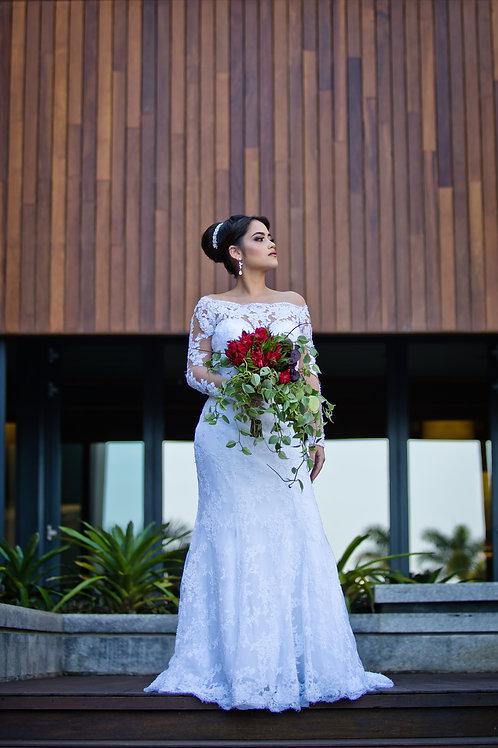 Vestido de Noiva Dália