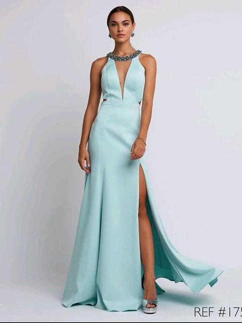 Vestido de Festa Verde Menta