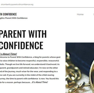 Parent With Confidence