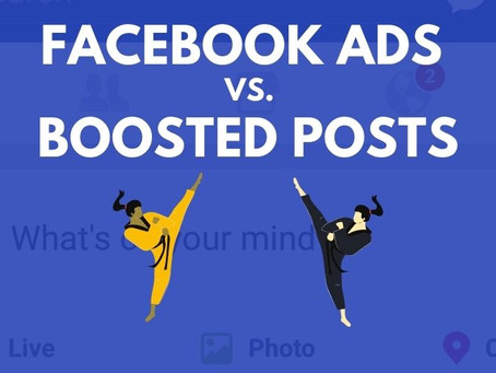 Facebook Ads vs. Boosted Posts