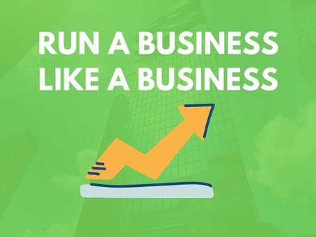 Running a Business vs. Running a Hustle