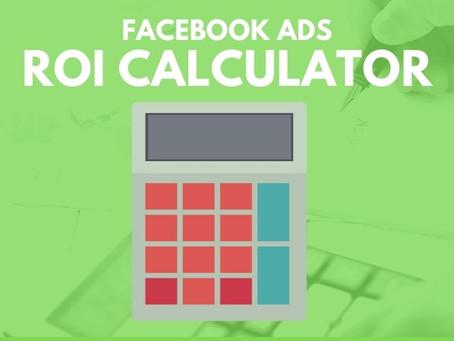 ROAS & ROI Calculator for Facebook Ads