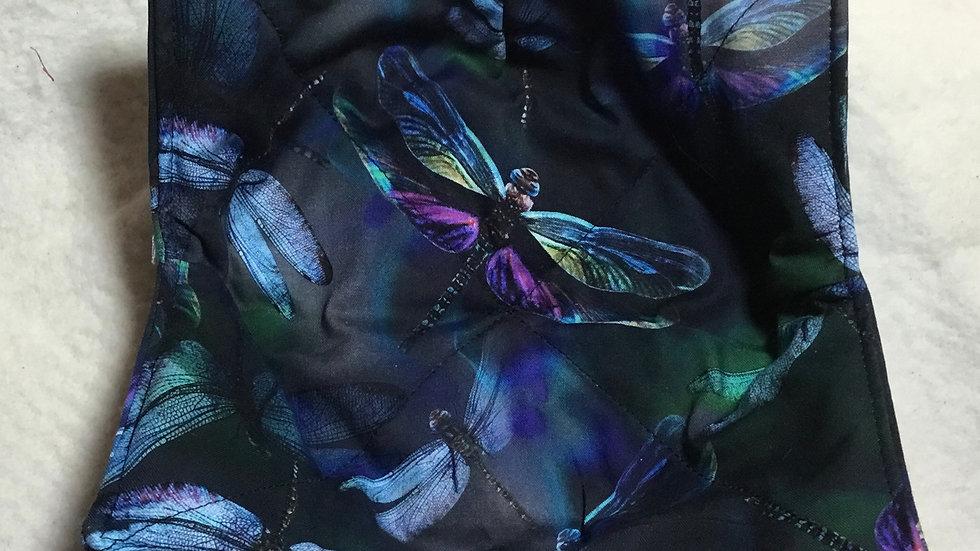 Dragonfly Fabric Bowl Holder