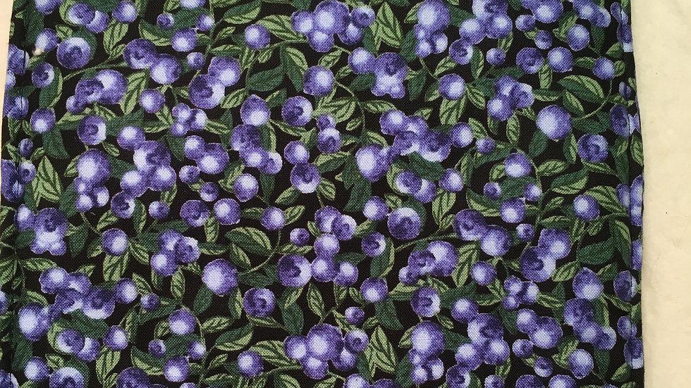 Blueberry Fabric Potholder