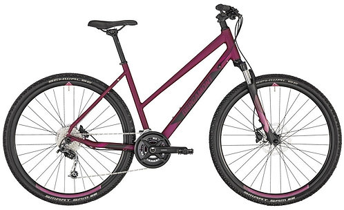 """Велосипед 28"""" Bergamont Helix 5 lady 2020 berry red/black"""