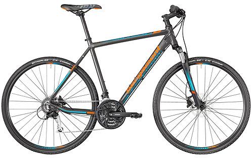 """Велосипед 28"""" Bergamont Helix 5.0 dark silver/petrol/orange"""