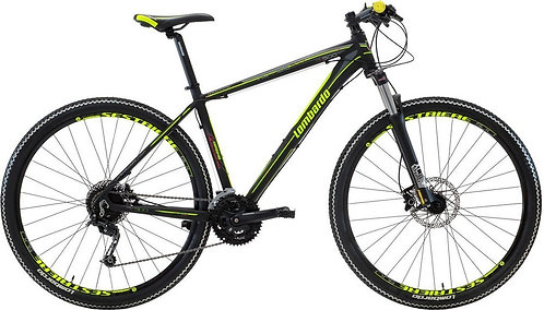 "Велосипед 29"" Lombardo Sestriere 500 U black/yellow"