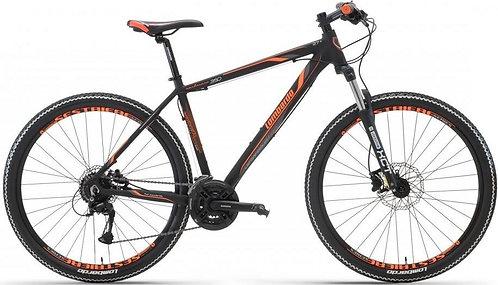 "Велосипед 27,5"" Lombardo Sestriere 300 U black/orange"