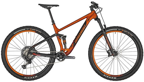 """Велосипед 29"""" Bergamont Contrail 8 2020 dirty orange/black"""