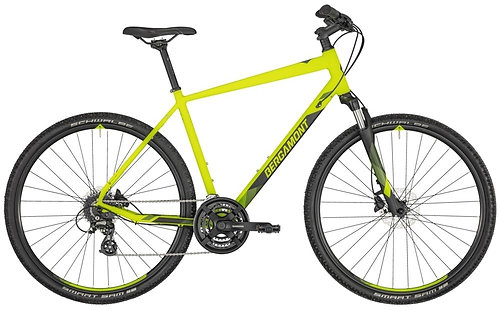 "Велосипед 28"" Bergamont Helix 3 gent 2020 yellow/black"