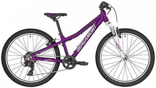 """Велосипед 24"""" Bergamont Revox 24 Girl purple/white/pink"""