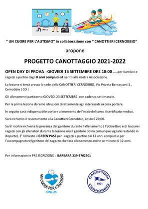 CORSO DI CANOTTAGGIO 2021