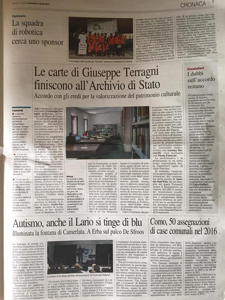 Corriere di Como 2 aprile 2016.jpeg