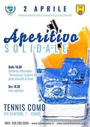 aperitivo 2 aprile 2019 TENNIS COMO