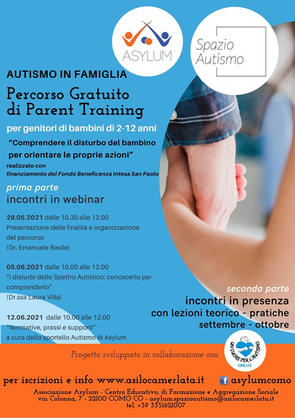PARENT TRAINING - WEBINAR