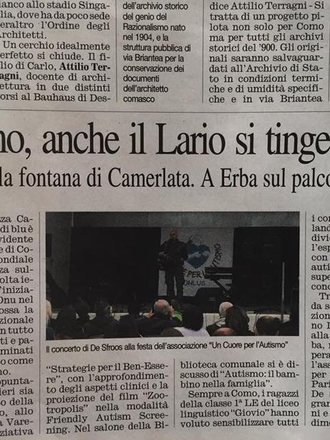 Corriere di Como (ritaglio) 2 aprile 201