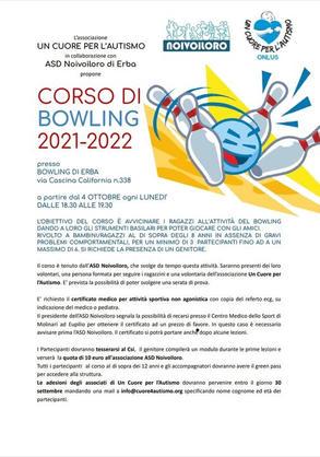 CORSO DI BOWLING