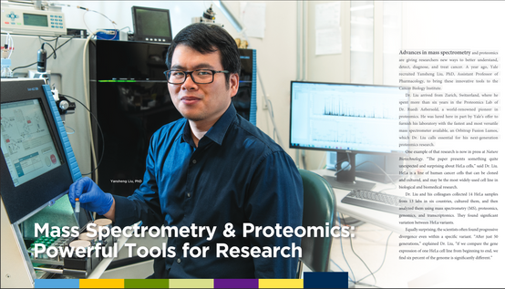 Mass Spectrometry and Proteomics featured on the 2018 issue of Breakthoughs – the year in review for