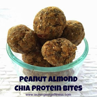Fuel Your barre Workouts with Peanut Almond Chia Protein Bites