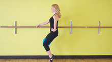 PulsePointe barre Technique Tip - Upright Parallel