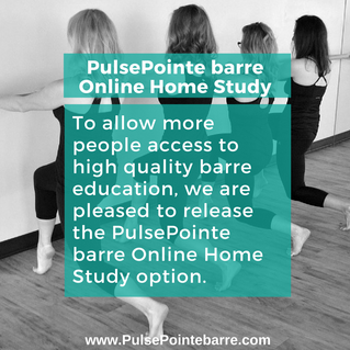 PulsePointe barre Online Home Study