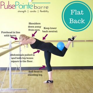 PulsePointe barre Technique Tip - Flat Back