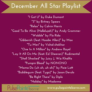 December All Star Playlis