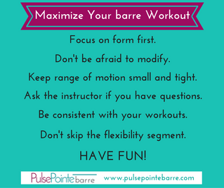 Tips To Maximize Your barre Workouts